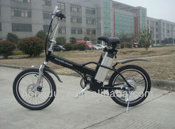 Bright color durable mini folding electric bike 36V250W for girls for sale