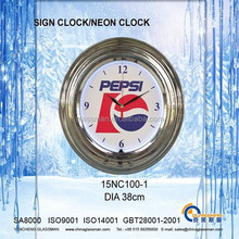 Wall decoration Neon clock 15NC100-1