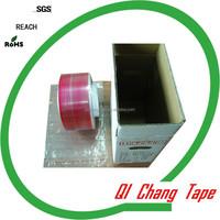 offer OEM service BOPP film bag sealing tape china plant