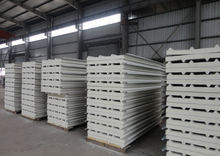 foam PU insulation roof steel sandwich wall panel