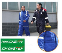 en11612 certificate 100% cotton flame retardant cargo pants fabric