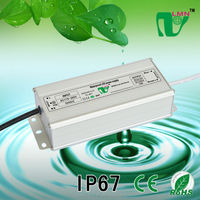 77W waterproof constant current led driver