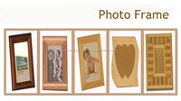 2014 new designed pine wooden photo frame