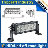 Promotion! 2PCS/LOT! 36w LED TRUCK LIGHT BAR Spot Flood Combo Truck Trailer ATV 4x4 Car Driving Work Light