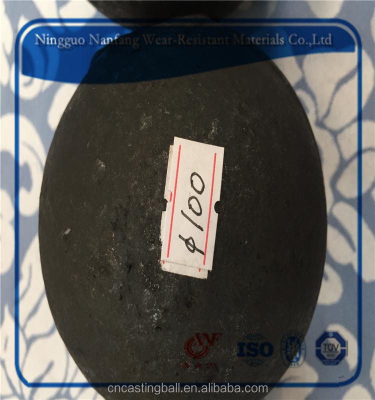 100 мм с Высоким содержанием хрома литья мяч скорость перерыв 0.5%