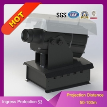 250w funny outdoor advertising gobo projector waterproof