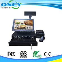 "15"" Touch Screen Restaurant POS Terminal"