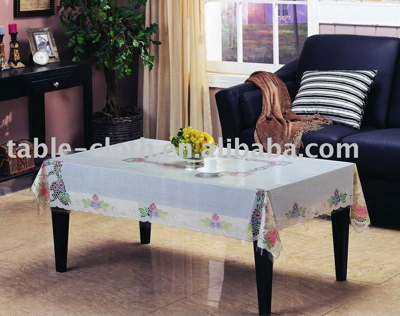 pvc table basse chiffon en plastique couverture de table imprim nappe. Black Bedroom Furniture Sets. Home Design Ideas