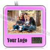 photo frame table clock, multi photo frame clock