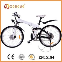 large power fashion mountain electric motorized bicycle