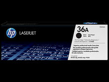 Genuine Black HP 36A Toner Cartridge - (CB436A)