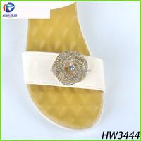 Yiwu Renqing belly chain rhinestone flip flop accessory