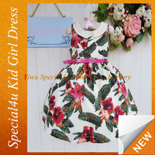 The latest design baby frock party girl dresses birthday dress for baby girl SY-004