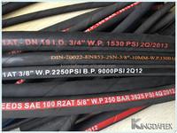 flexible reinforcement brand names hydraulic hose OEM