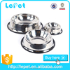 Factory wholesale cheap stainless steel dog bowl pet feeder for cats dogs
