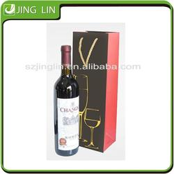 High Quality 6 bottle wine paper bag wine paper bag in box holder for wholesales