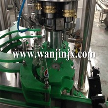 Small capacity soft drink canning machine in China
