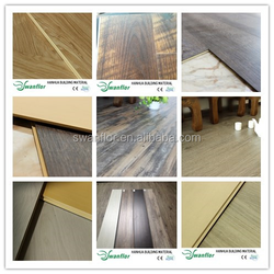 Fire proof engineered plank flooring, wood-plastic engineered flooring with click system, wide plank oak engineered flooring