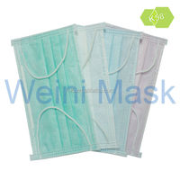 Raw Material Imported from Germany 3 Ply Physical Inactivation Virus Decorative Medical Face Masks/ Disposable Medical Face Mask