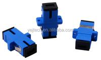 Shenzhen YEJ SC/UPC Adapter Singlemode, Simplex, Black Dust Cap, Ceramic Sleeve