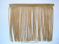 5 INCH RAYON CHAINETTE FRINGE; HIGH QUALITY LAMPSHADE TRIM