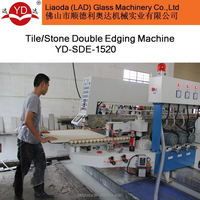 Automatic horizontal stone edging polishing machine YD-SDE-1520