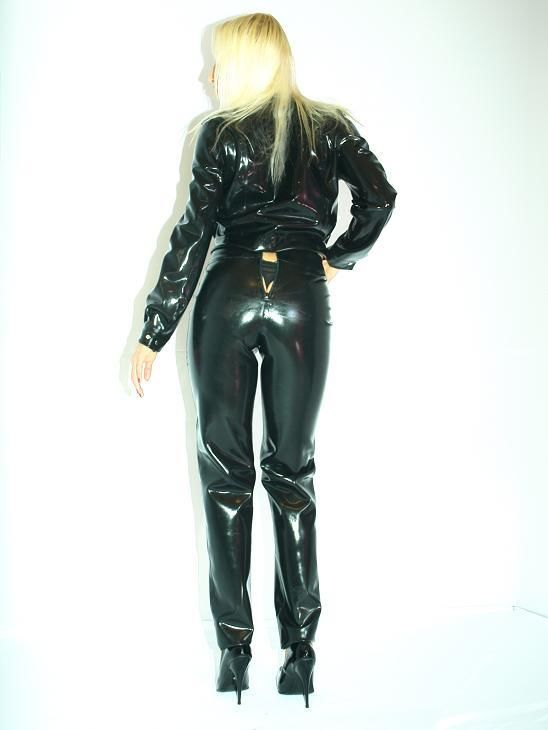 Rubber Latex Rubber Trousers Producer Fashion Style Poland