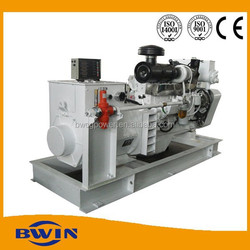 30kw to 140kw marine diesel engine generators with DCEC Cummins engine