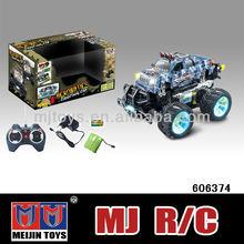 Hot 1:14 escala rc juguete monster truck 4 channel road de descuento de la alta velocidad del coche de rc