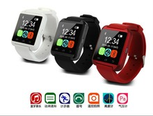 Aibaba Gold Supplier!!!2015 Low Price Fashion Bluetooth U8 Smart watch Sport Wrist Watch Compatible with Android Phone Device