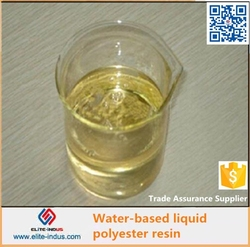 water soluble polyester resin adhesive