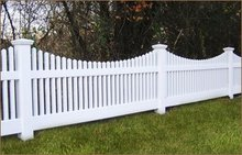 pvc fencing,100% virgin material, strong uv resistance