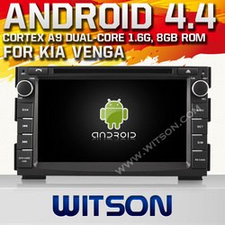 WITSON Android 4.4 CAR AUDIO SYSTEM FOR KIA VENGA Cortex A9 WiFi 3G 8GB Inand CAPACTIVE Screen
