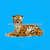 artificial ceramic leopard