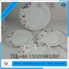 round ceramic dishes, cheap china dishes, white ceramic soup bowls