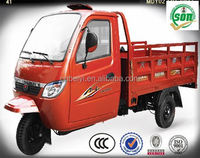 good quality competitive price 2015 cargo tricycle with closed cabin