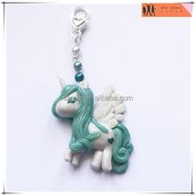 OEM unicorn charm plastic keychain models,custom design plastic charm keychain,custom OEM design keychain manufacturer