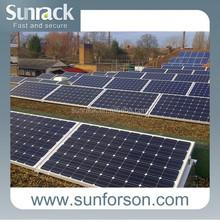 Ballast solar mounting systems