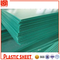 PP sheet materials used building partition wall