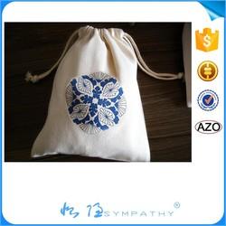 Customized Logo Branded Promotional cotton Drawstring Bag / non woven drawstring bag / polyester drawstring bag