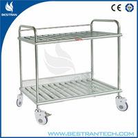 BT-SIT004 CE approved hospital furniture medical instrument trolley for ward