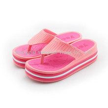 mujeres de moda las sandalias de dama zapatillas zapatillas de espesor mayor zapatillas de suelas