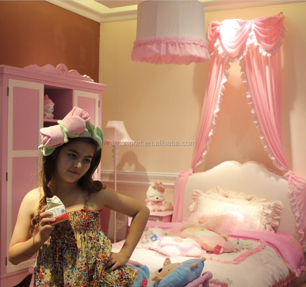 Het hete verkopen roze prinses bed kinderen slaapkamermeubilair ...