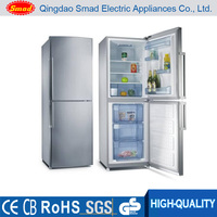 european double door compressor frost free bottom freezer refrigerator
