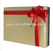 2012 Valentine's day Golden gift packaging box