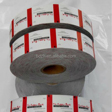 Paper film laminated with polyethylene for sugar sticks and sachets