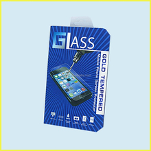 mobile phone screen protecter plastic packing box for wholesale