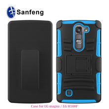 Shock Proof Dust Proof High Impact Cheap Price Holster Protective Mobile Covers For LG Magna/G4 Mini