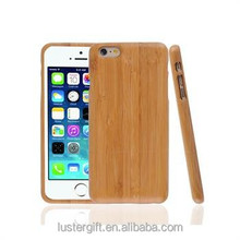 Natural real wood phone case, bamboo case for iPhone 6, bamboo phone case