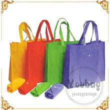 High quality recycle pp non-woven fold shopping bag